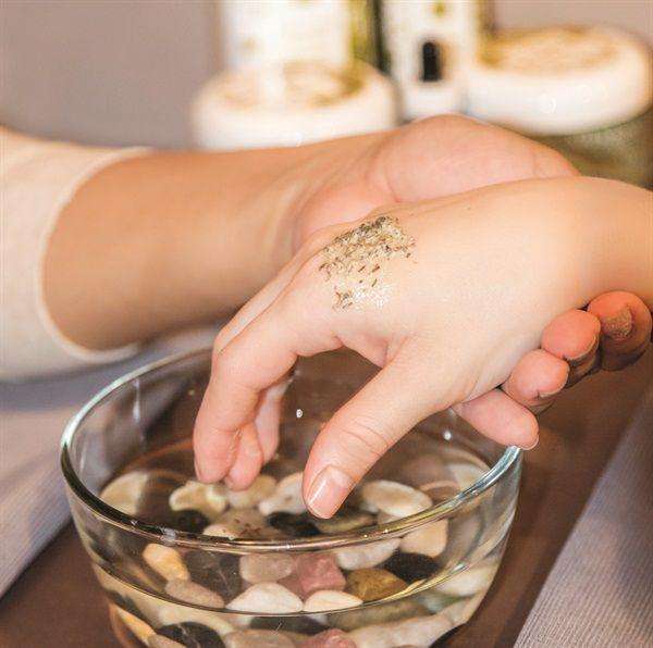 Signature Services: Sugar Plum & Spice Manicure - Technique - NAILS Magazine