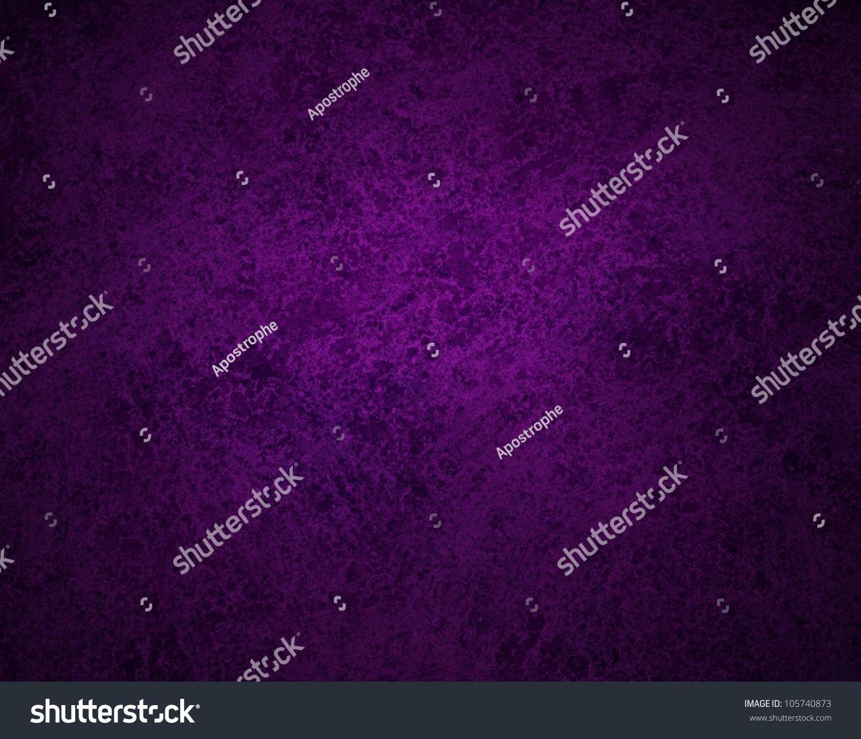 Abstract Purple Background Black Design With Vintage Grunge