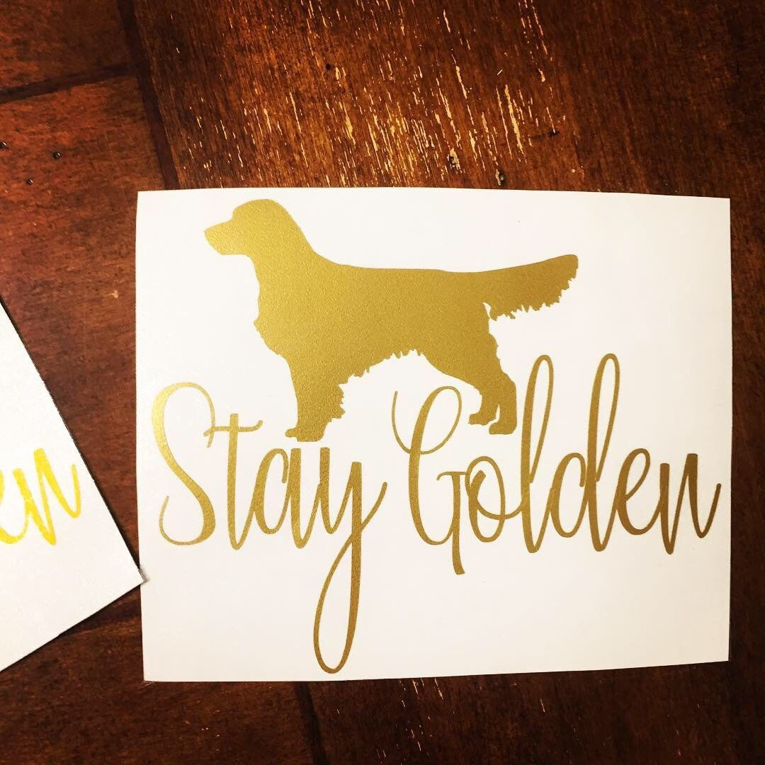 Excited To Share This Item From My Etsy Shop Stay Golden Decal