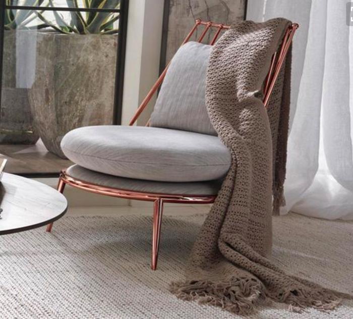 Raumgestaltung Farbe Beige Anthrazit Braun Raumgestaltung: Die Besten Rose Gold - Wohnideen