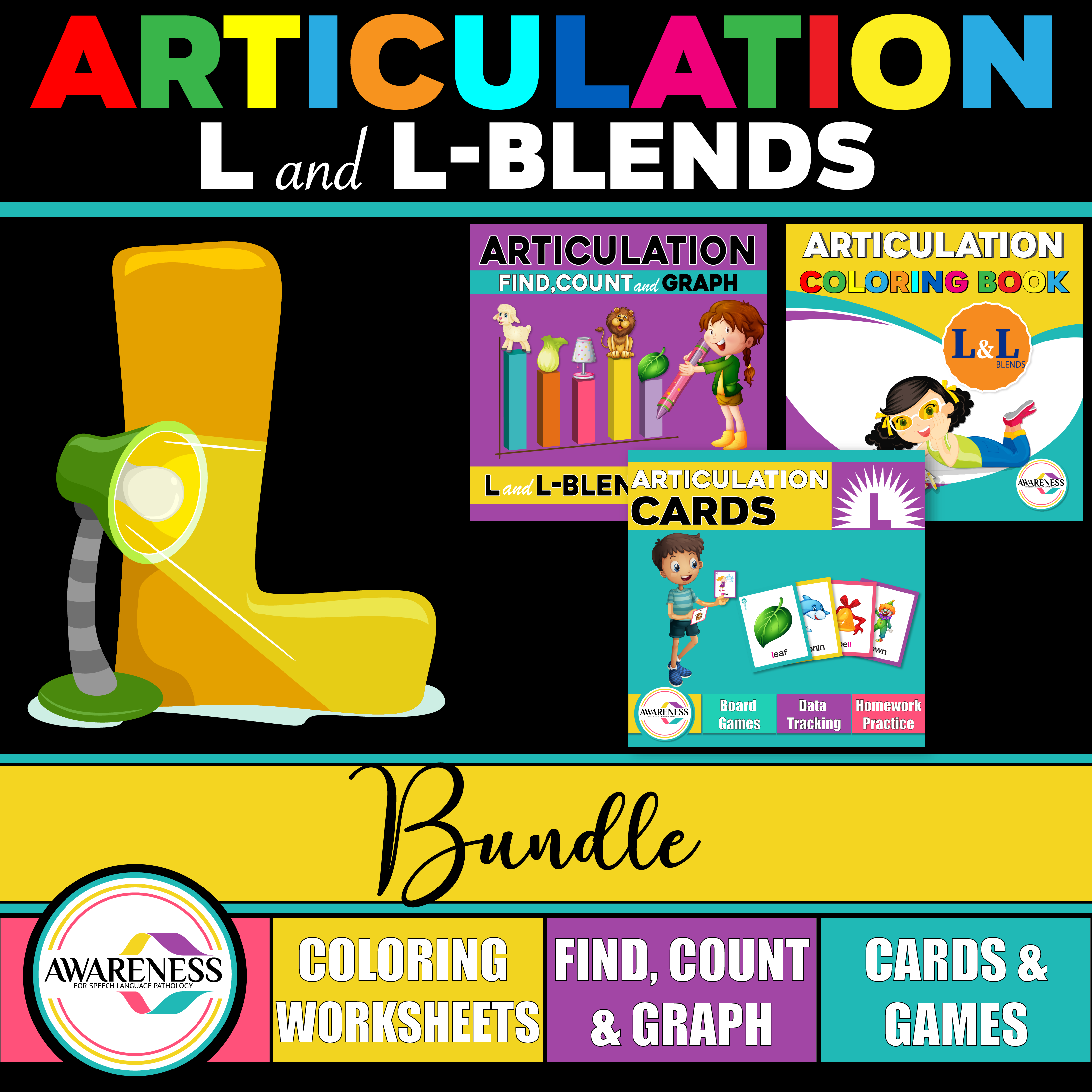 L And L Blends Articulation Pack Activities For Speech