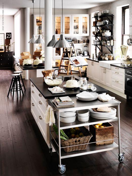 IkeaBlog Kitchen Pinterest Kitchens Open Kitchens And Fascinating Bakery Kitchen Design Style