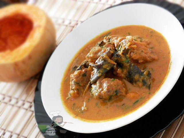 Nigerian Food Recipes TV| Nigerian Food blog, Nigerian Cuisine, Nigerian Food TV, African Food Blog: Miyan Taushe (Nigerian Pumpkin Soup)