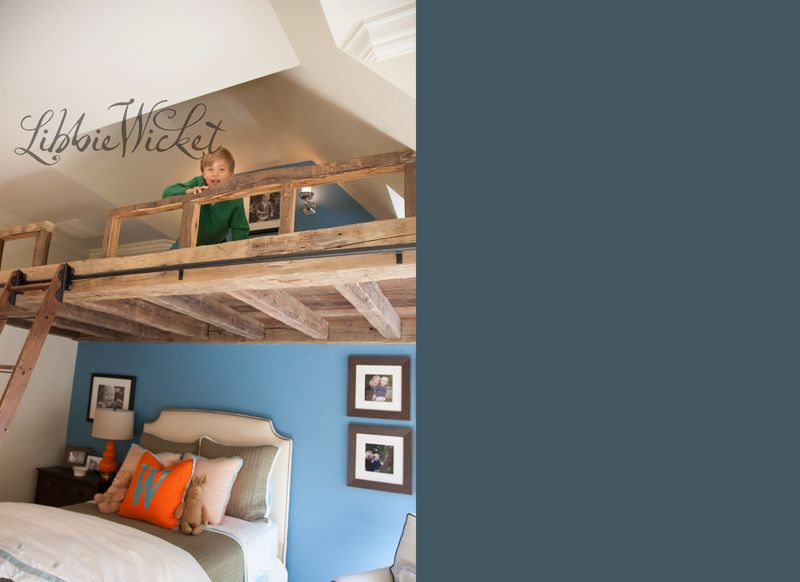 how awesome is this loft in this little guy\u0027s room crazy kids are