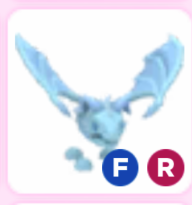 Frost Fly Ride Adopt Me Roblox Legendary Ebay In 2020 Roblox My Roblox Pet Adoption Certificate