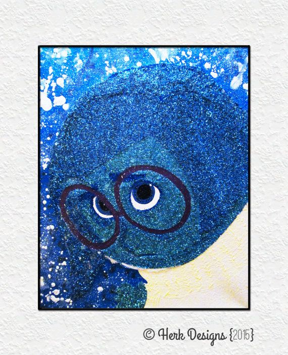Hey, I found this really awesome Etsy listing at https://www.etsy.com/listing/239777442/inside-out-sadness-disney-pixar-glitter