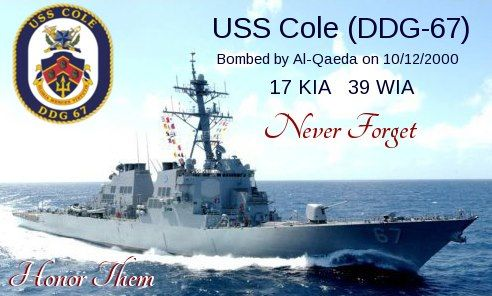 The Reason Why She Was Damaged So Severely Was Due To A Poor Decision To Decommission Most Of Th Military Heroes Arleigh Burke Class Destroyer American History