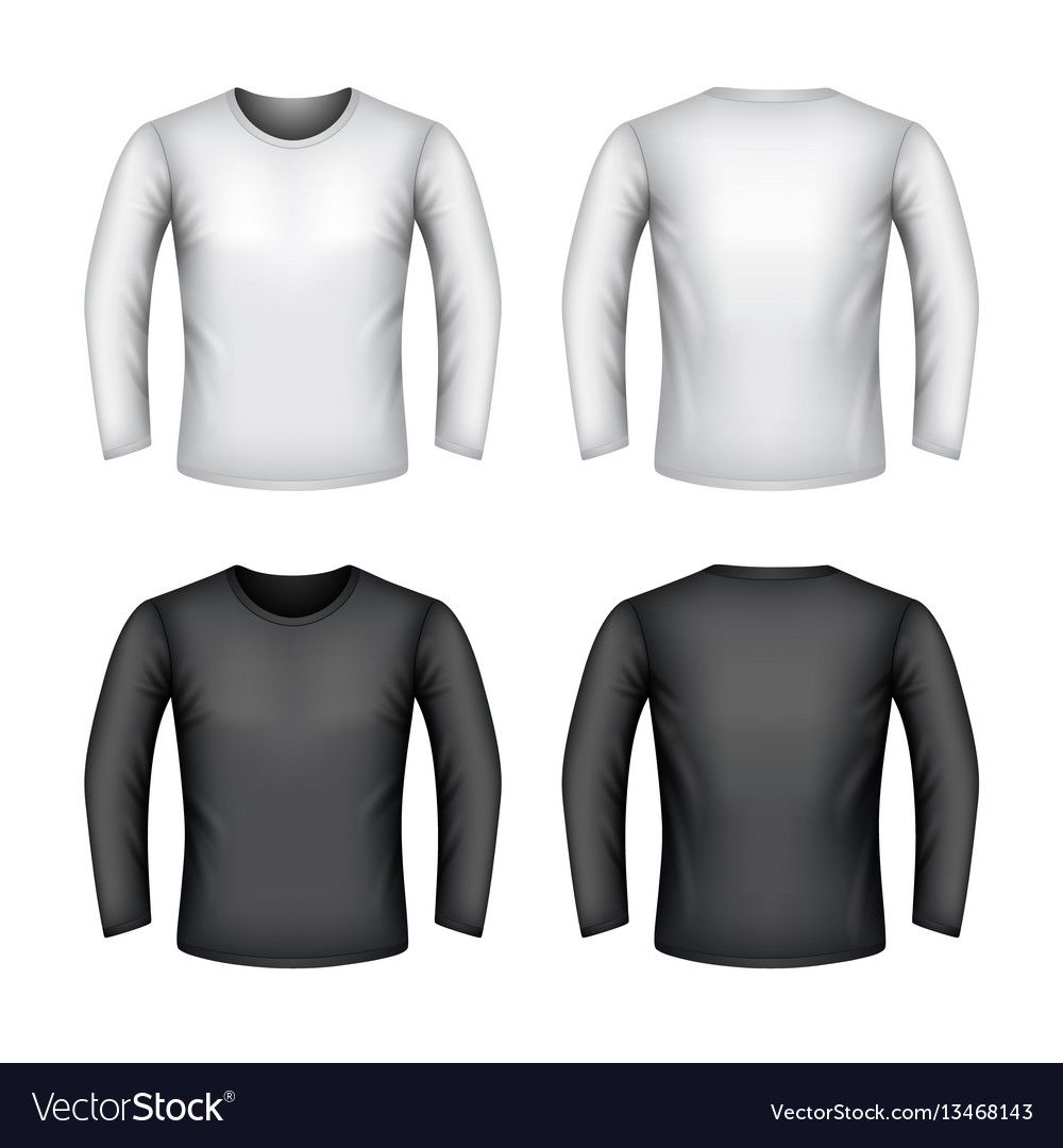 Download Male Sweatshirt Isolated On White Royalty Free Vector Image Vector Free Sweatshirts Free Vector Images