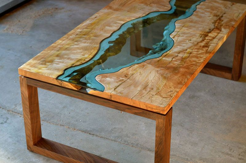 Furniture with Rivers of Glass Running Through Them by Greg Klassen  1. Furniture with Rivers of Glass Running Through Them by Greg