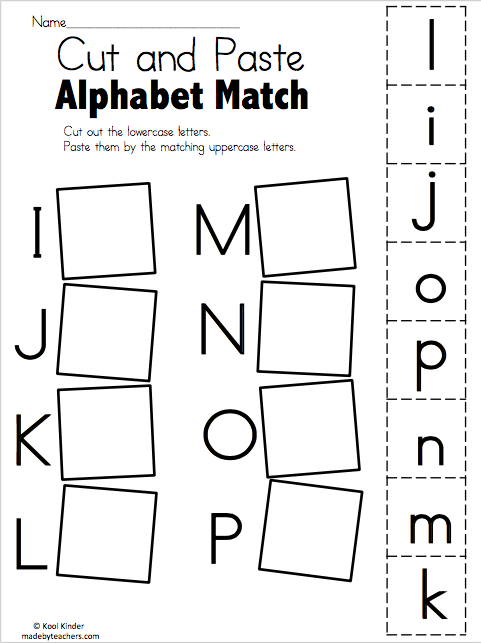 alphabet match i to p free worksheets preschool january preschool worksheets kindergarten. Black Bedroom Furniture Sets. Home Design Ideas