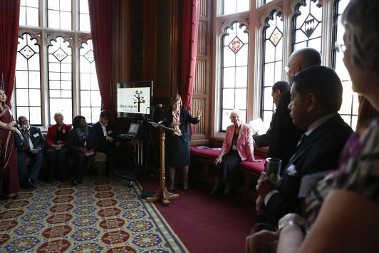Thare Machi Education event at the House of Lords.