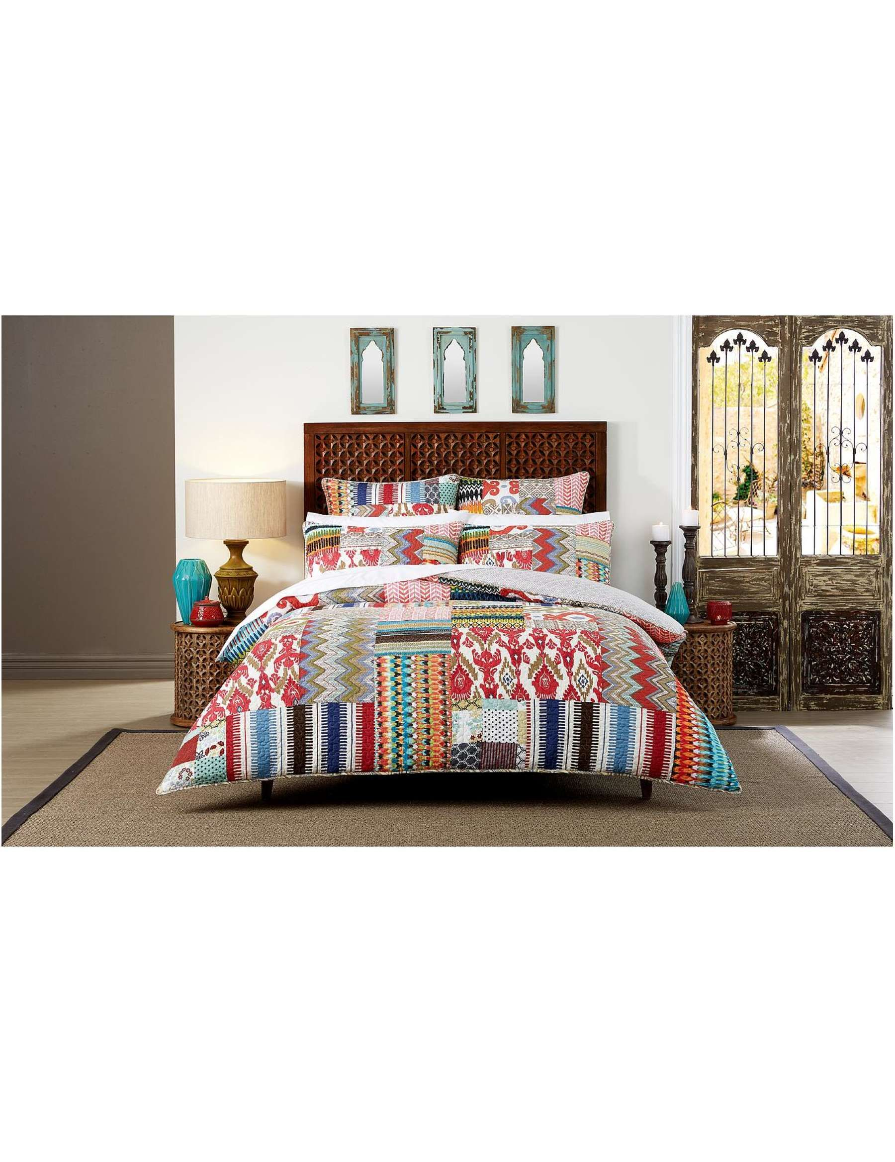 David Jones Cotton House Aletta Double Bed Quilt Cover
