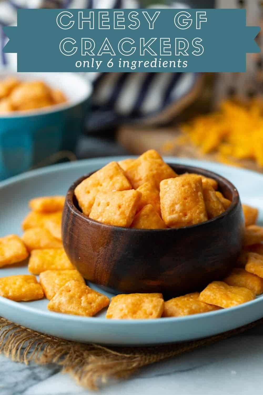 Cheesy Gluten Free Crackers | Recipe in 2020 | Gluten free ...
