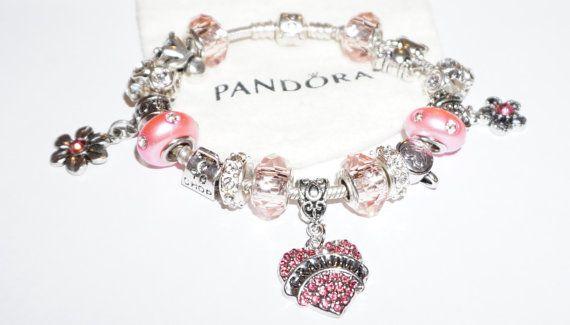 Grandma Boy Girl Authentic Jared Pandora Bracelet Jareds jewelers