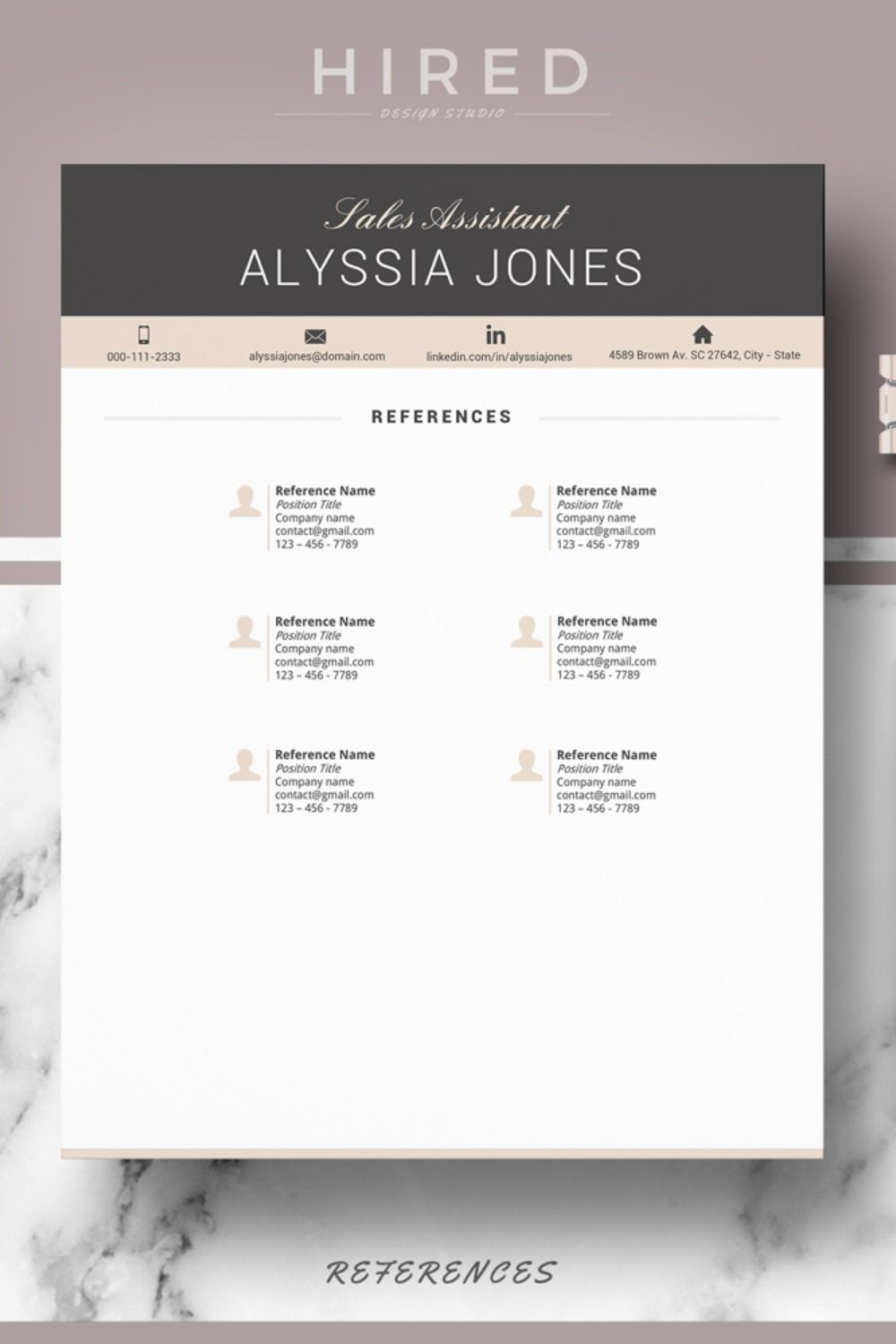 How To List References? Before you begin your job hunt