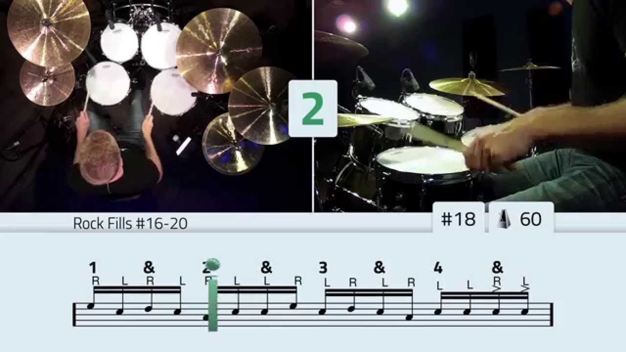 Rock Drum Fills Free Beginner Drum Lessons (Part 4 of 5