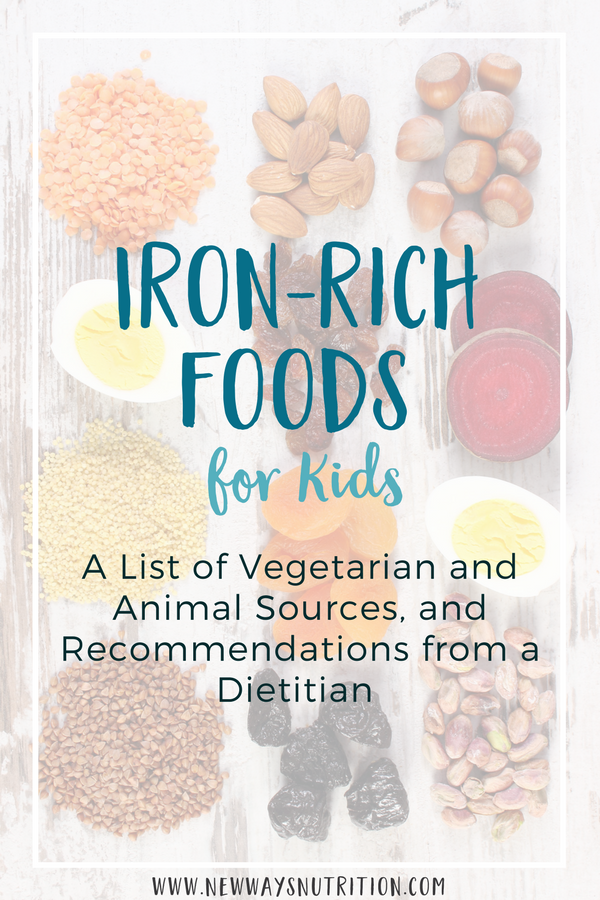 IronRich Foods for Toddlers and Babies Iron rich foods