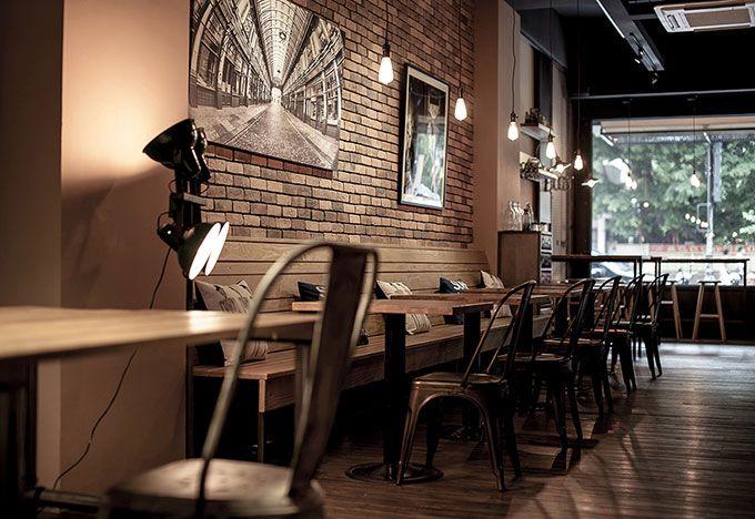 Decoracion industrial minimalista cafeterias buscar con - Decoracion cafeterias modernas ...