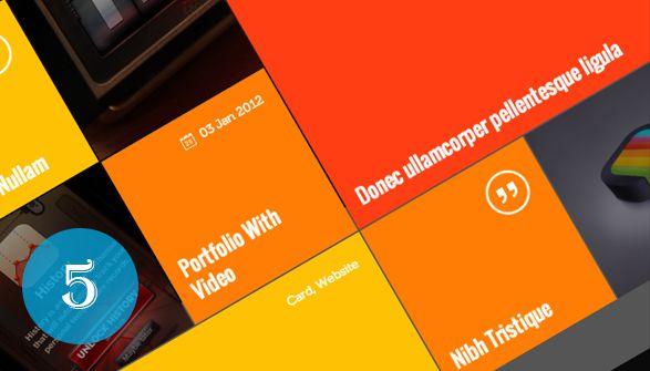 Hot Website Design Trends 2013