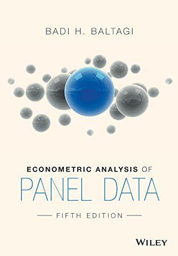 Econometric Analysis Of Panel Data Textbook Book Worms