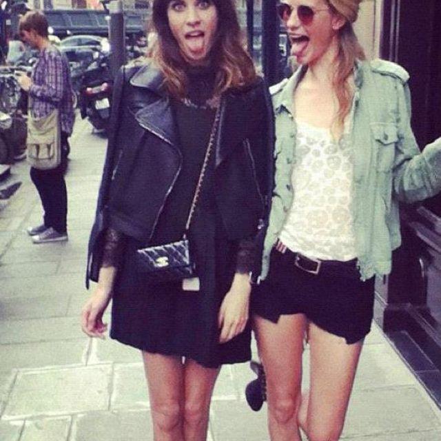 Fashion favorites, Alexa & Poppy...perfection