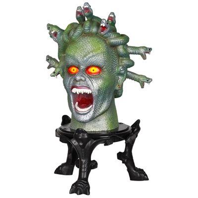 Animated Medusa Head $3999 lowes halloween 2014 Pinterest - lowes halloween inflatables
