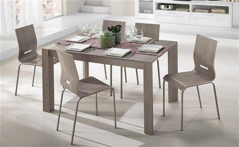 Tavolo e sedia Wood Mondo Convenienza Tavolo moderno