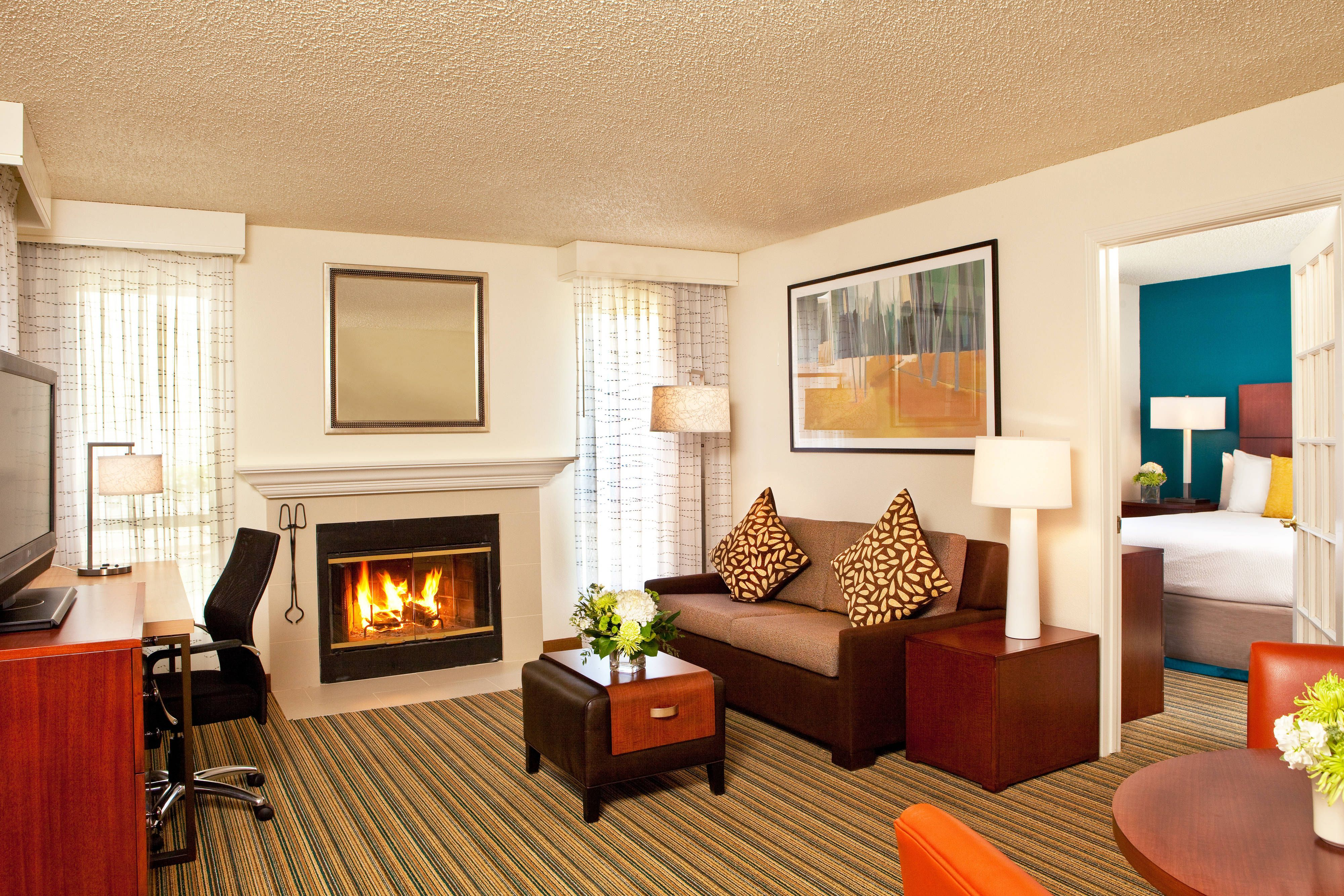 Residence Inn Sacramento Airport Natomas TwoBedroom Suite
