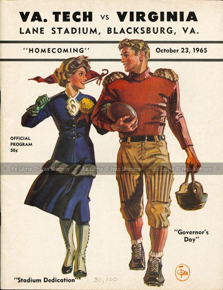 1965.10.23. University of Virginia (Cavaliers) at Virginia