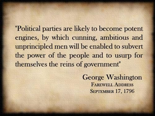 George Washington Farewell Address Quotes | Pin By Johnny Wilson On Oppositesidesofthesamecoin Republicans
