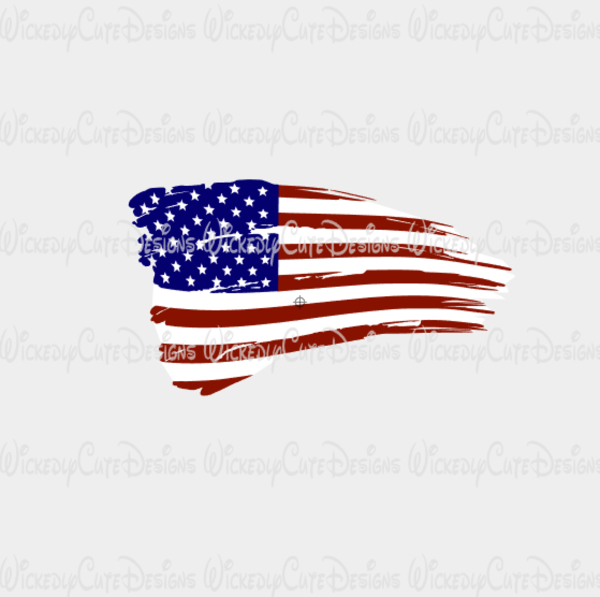 Distressed American Flag Svg Dxf Eps Png Digital File American Flag Tattoo American Flag Small American Flags