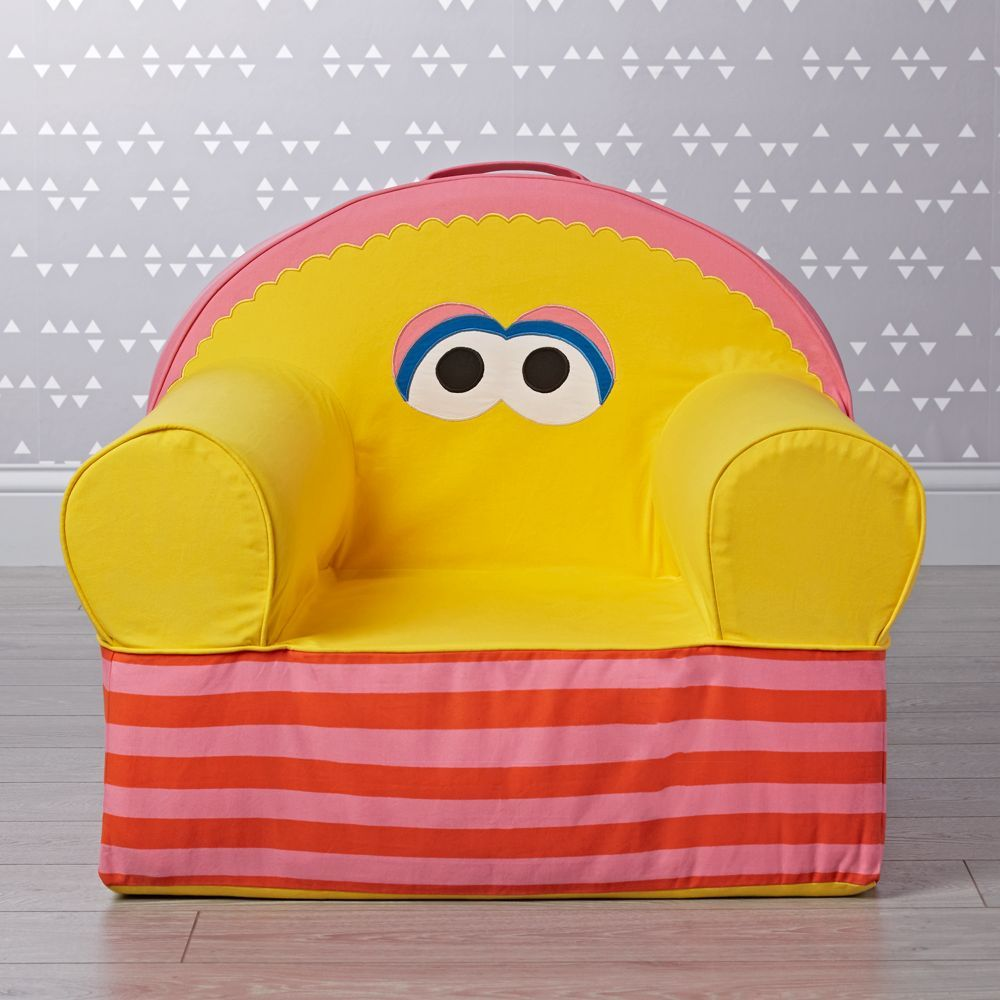 Sesame street large big bird nod chair big bird sesame streets