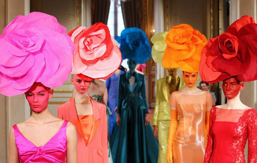 #AlexisMabille #Spring #Summer 2012 #fashion #designer #color