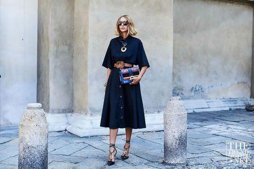 Milan Fashion Week SS17 Street Style (124) #flatlay #flatlays #flatlayapp www.flat-lay.com