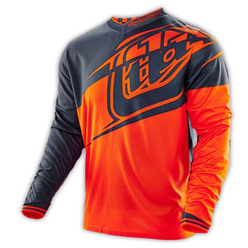 2016 NEW TLD Troy Lee Designs shipping New style BMX T-shirt motocross T shirt  Downhill MX ATV MTB Moto Tshirt ff4ab2699