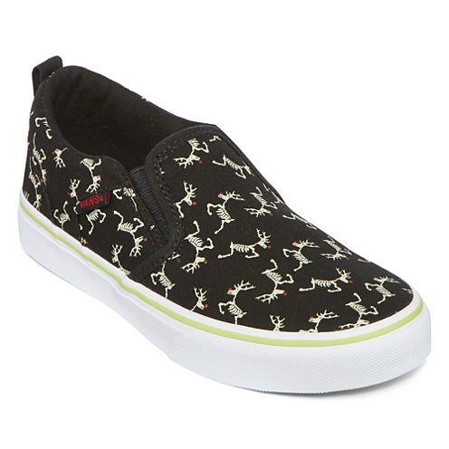 456160c877c7f Buy Vans® Asher Boys Skeleton Slip-On Skate Shoes - Big Kids at JCPenney.com  today and enjoy great savings.