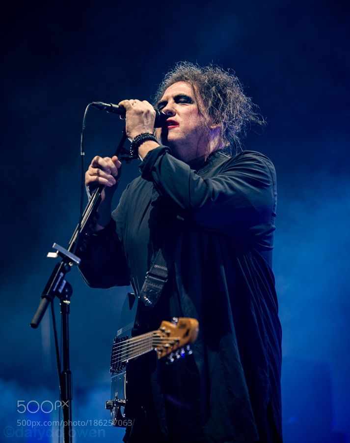 The Cure performing live at Wembley Arena London - 2nd December 2016 by DafOwen