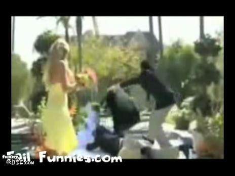 Best Man Wedding Fail