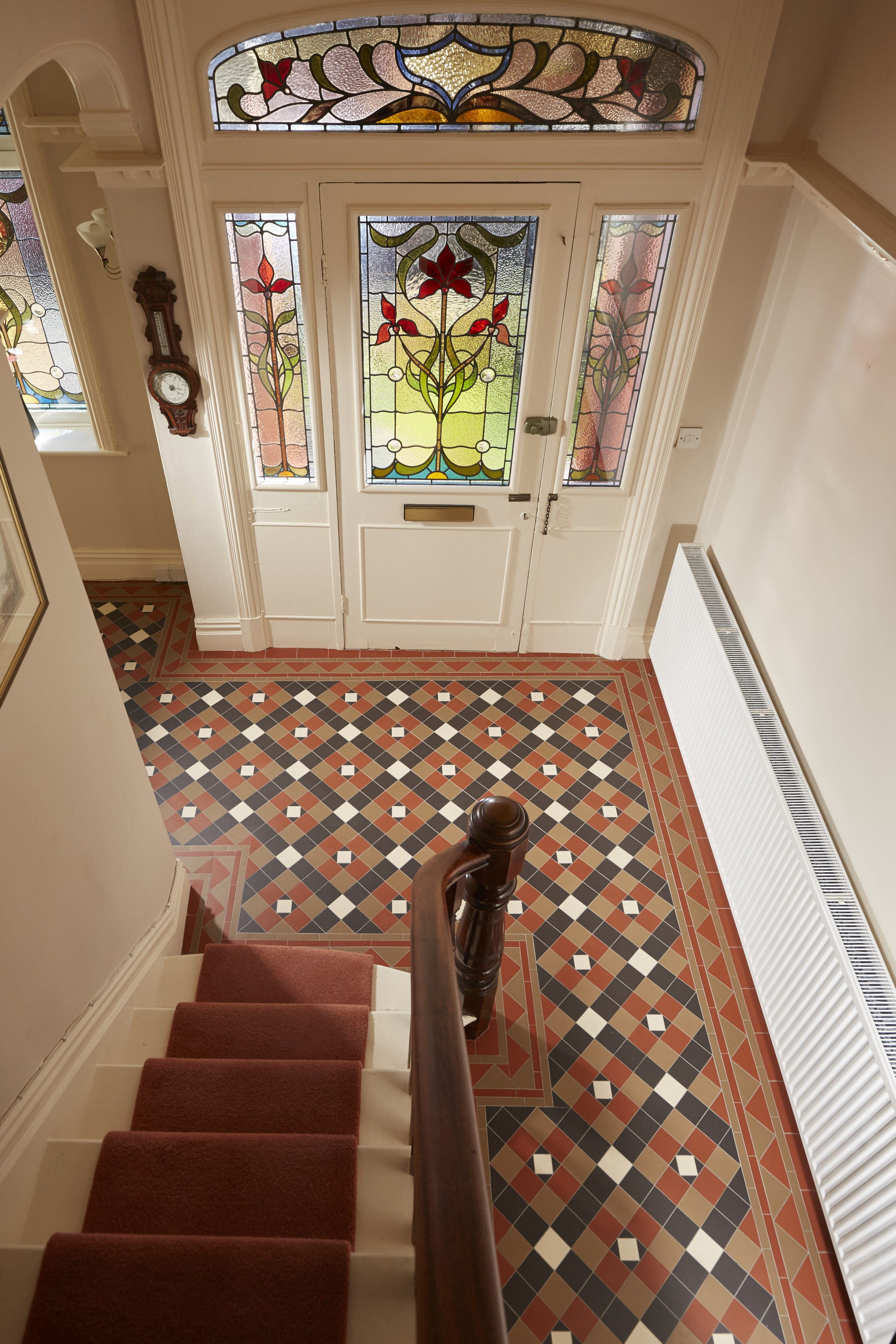 The richmond pattern victorian floor tiles by original style uk geometric tile patterns victorian floor tiles dailygadgetfo Images