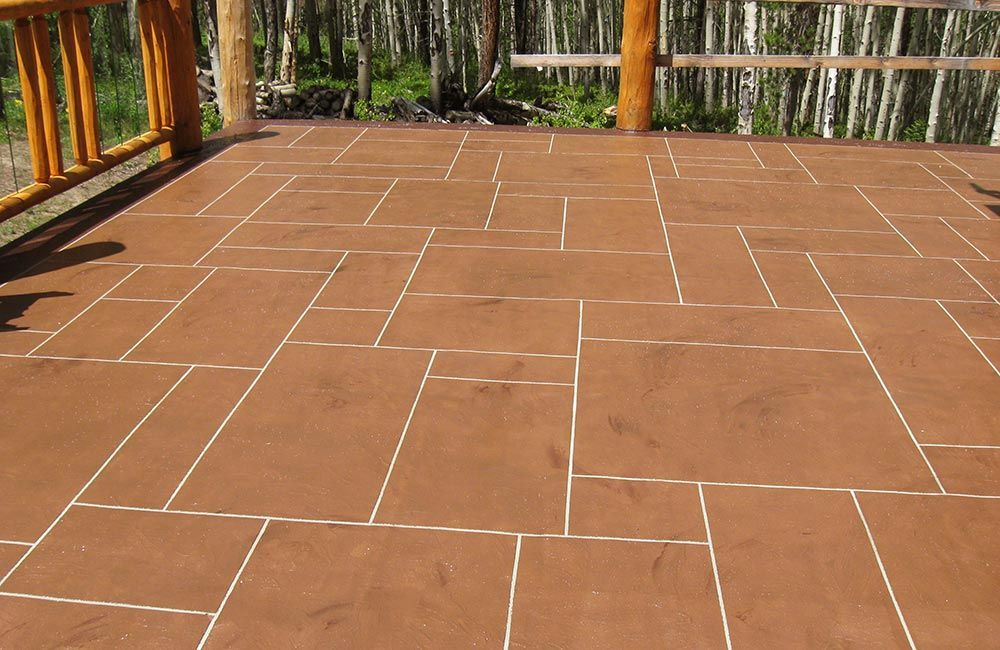 Patio Finishes For Existing Concrete 1