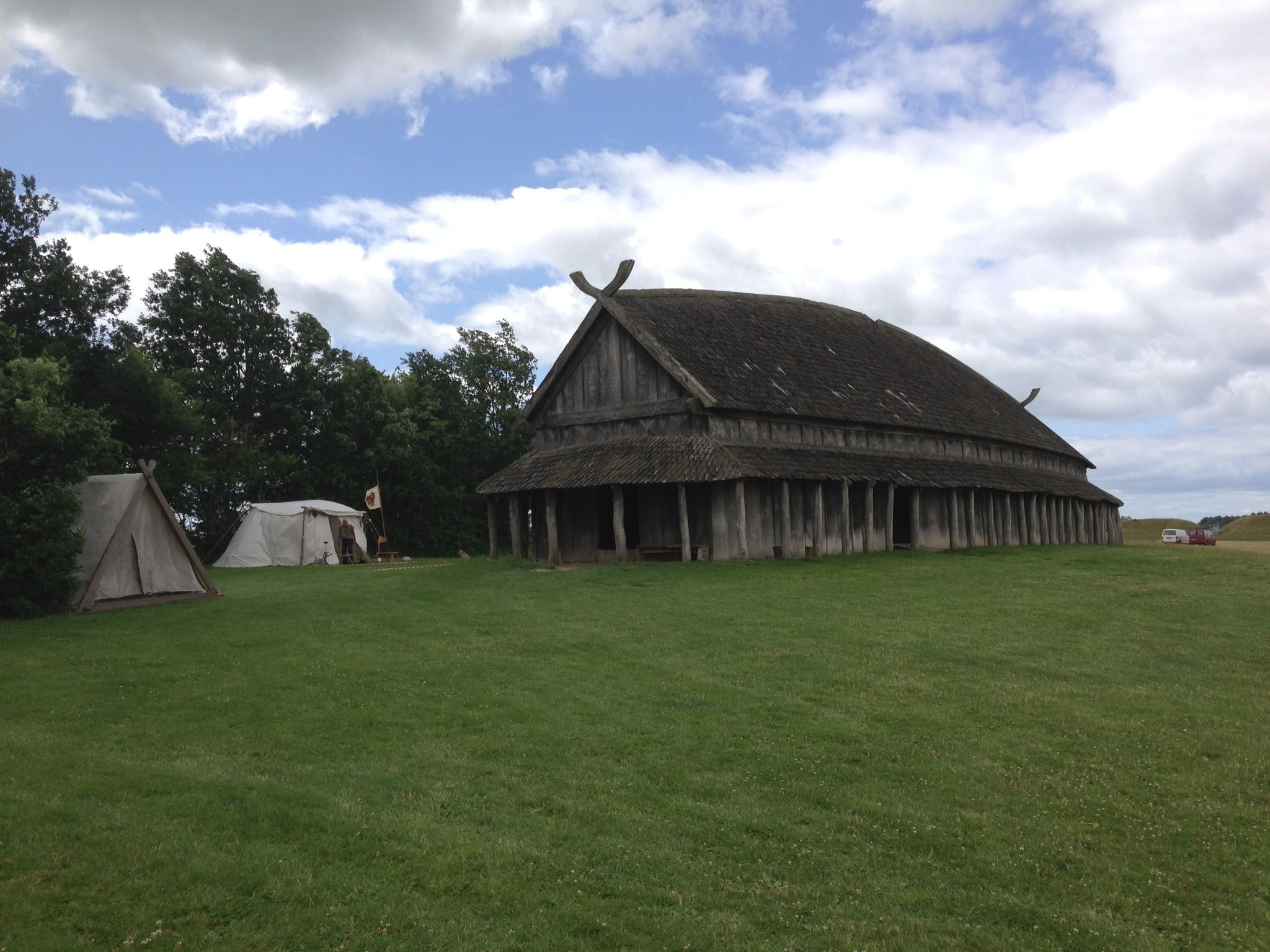 Trelleborg is the site of a great Viking Fortress.