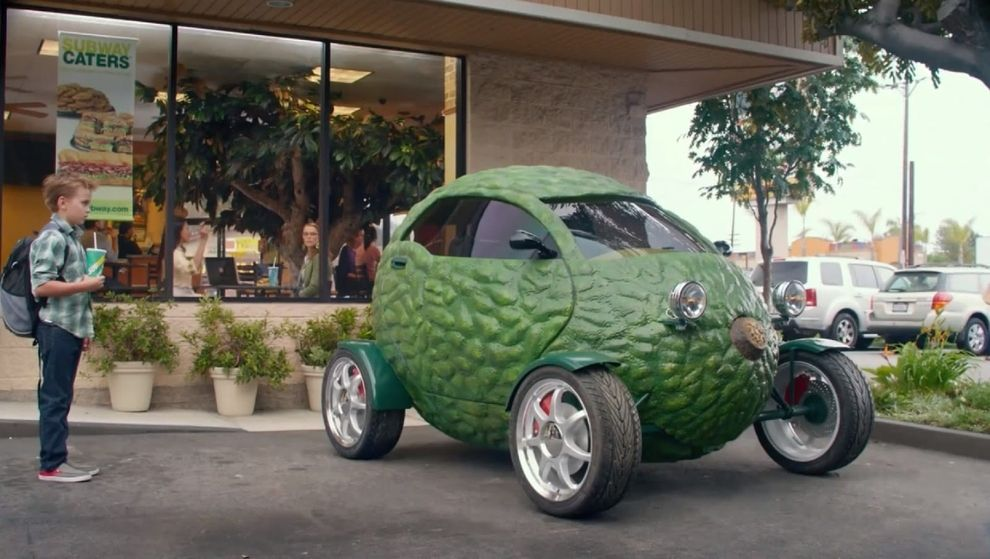 "The ""Avacardo"" is appearing in a current Subway commercial. 