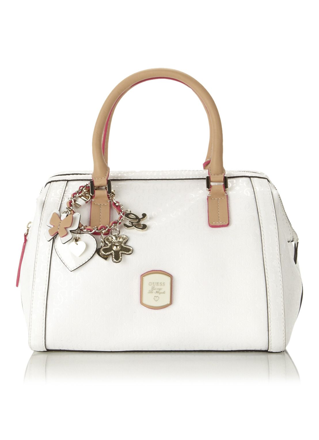Guess Handtas Frosted