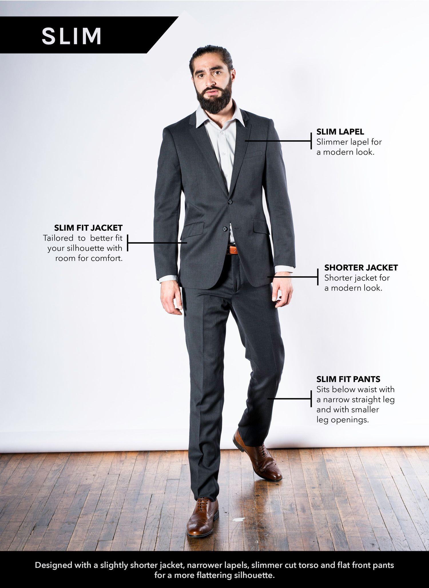 MDZ Fashion - Slim Fit Suit Sizing | Men's Fashion Styles ...