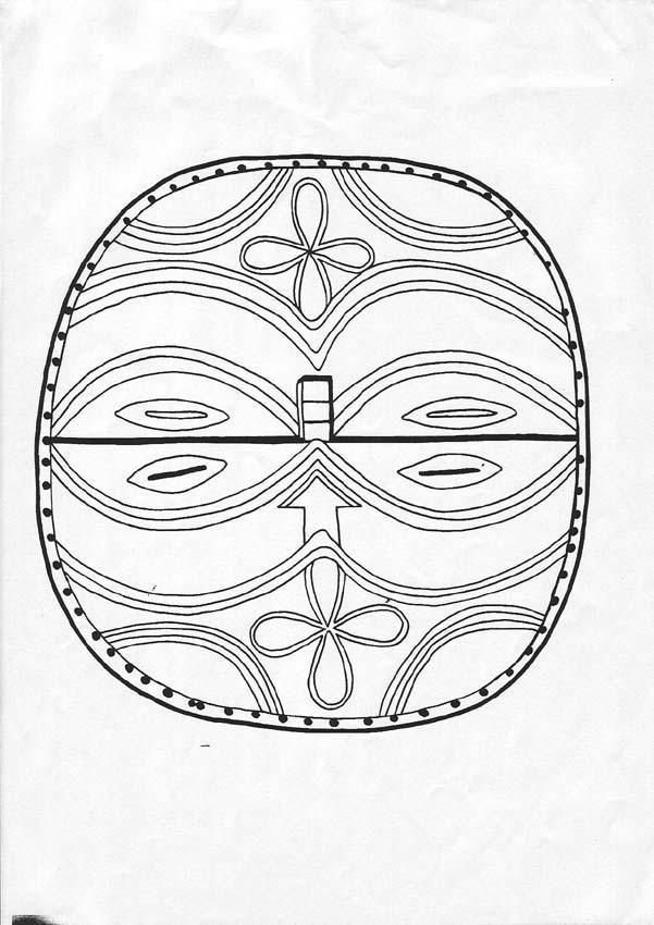 Attractive Coloriage Mandal Ethnique Repetition Et Symetrie Image ...