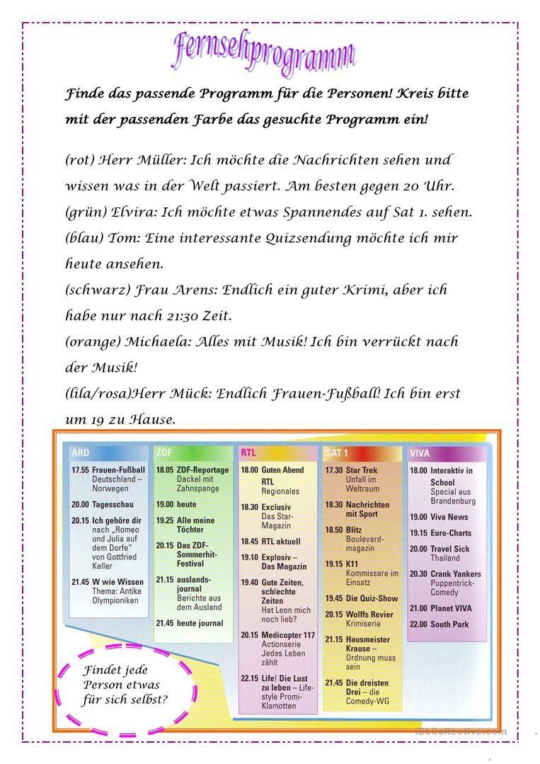 Fernsehprogramm Periodic Table School