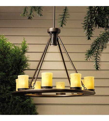 Kichler 15402oz Oak Trail 12v 11 4 Watt Olde Bronze Landscape 12v Specialty Outdoor Chandelier Outdoor Hanging Lights Outdoor Candles