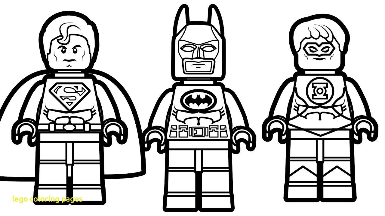 Printable Batman Lego Coloring Pages Free Download With Super