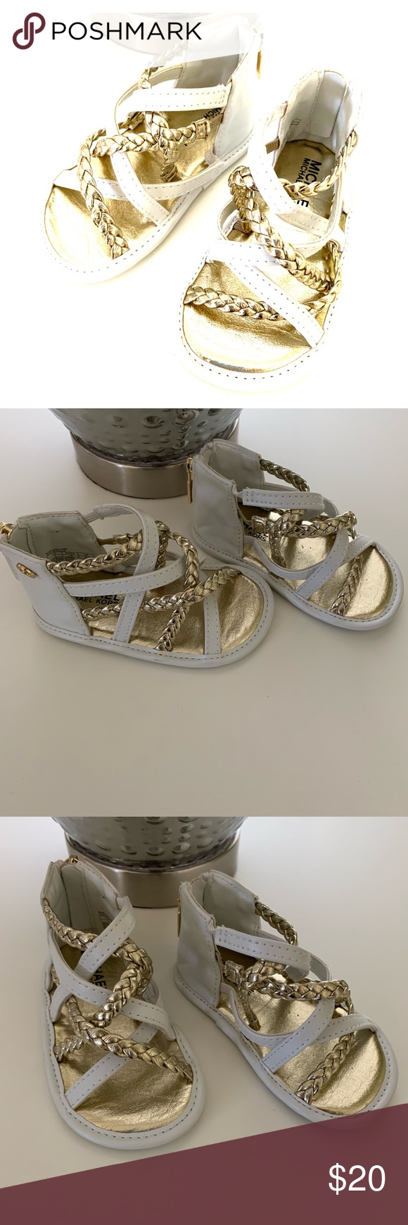 484e34481 Michael Kors infant girls gladiator sandal New without tags Shoes Baby &  Walker
