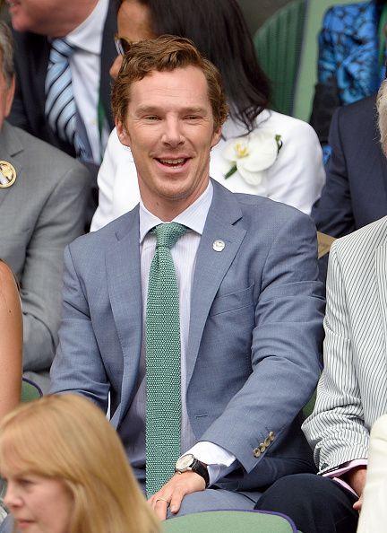 Ben at The Men's Singles Final Wimbledon - 12th July 2015